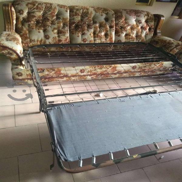 Sofá cama king size super comodo