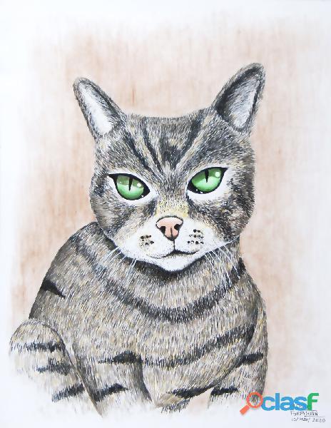 Dibujos de perritos y gatitos