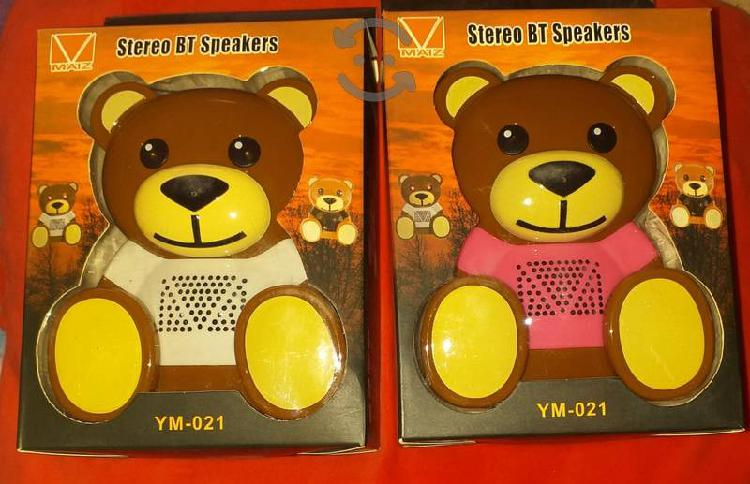 Bocinas en forma de oso