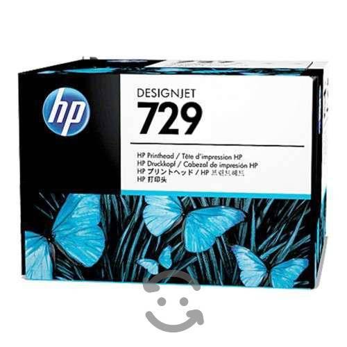 Cartucho de tinta hp 729 negro caja maltratada