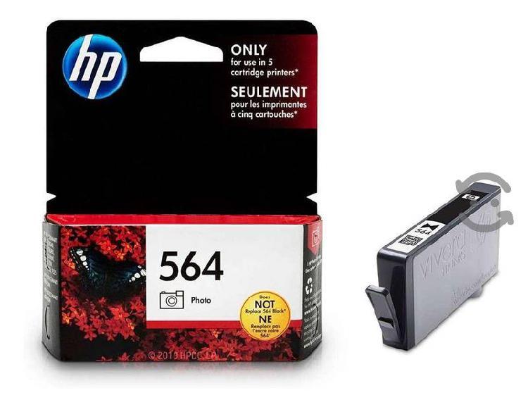 Cartucho hp 564 tinta fotografica caja maltratada