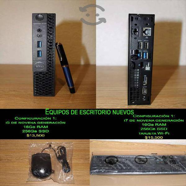 Equipo de cómputo nuevo dell optiplex micro