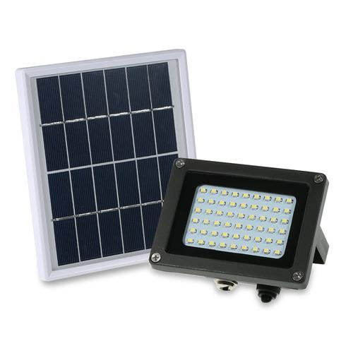 Luminaria solar con 54 luces led impermeables ip65
