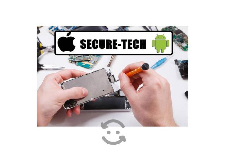 Reparación de cel androide o iphone serv. a domi