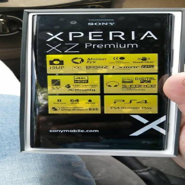 Sony xperia xz premium, nuevo, 64gb/4ram, libre