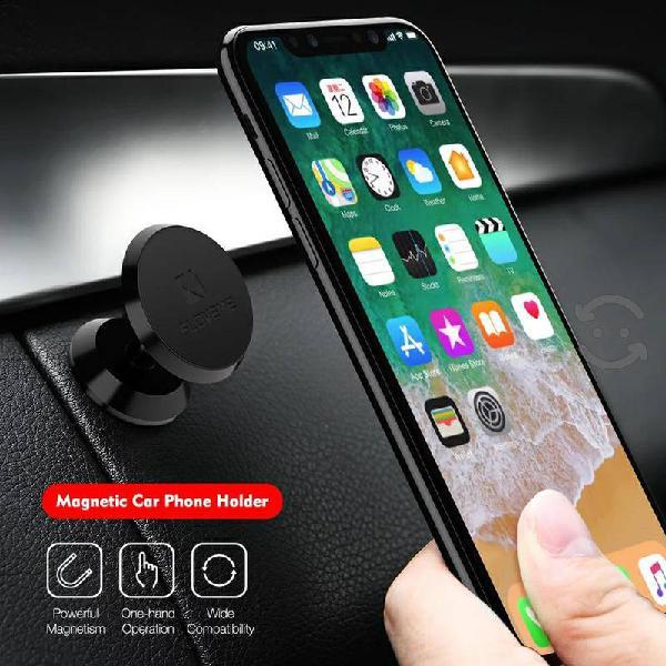 Soporte celular auto imán 360° original el mejor!!