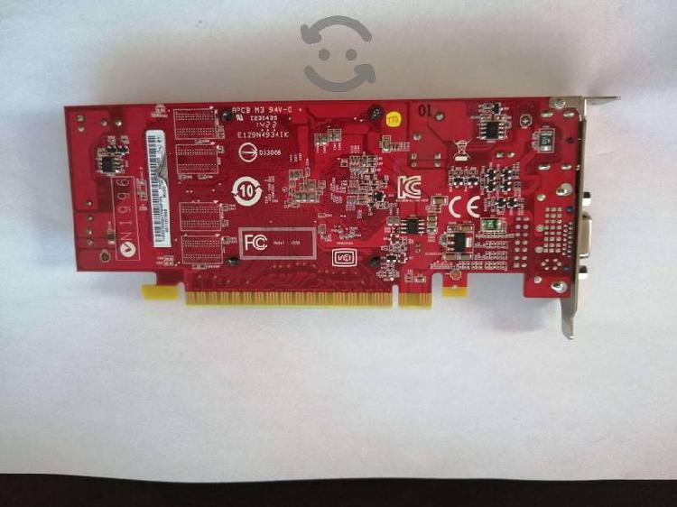 Tarjeta grafica nvidia gt620 1gb 64bit pci-e video