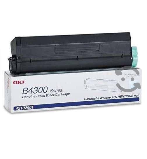 Toner oki b4300 negro caja maltratada