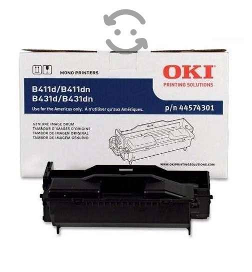 Toner oki negro bb4400 b4600 caja maltratada