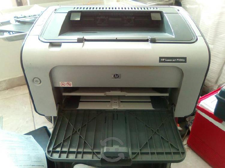 Impresora laserjet hp p 1006