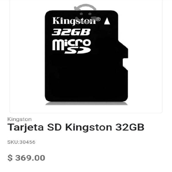 Micro sd clase 10 kinstonkg nuevas