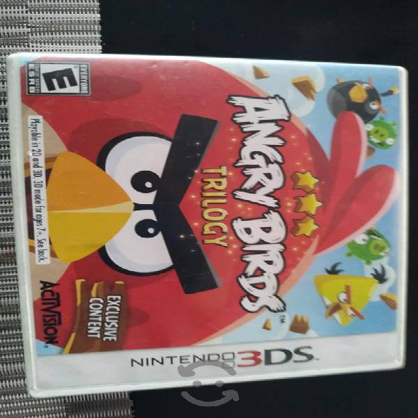 Angry birds 3 ds en caja comoleto store nintendo