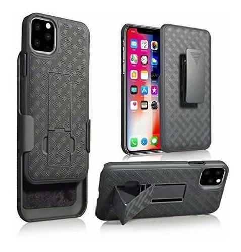 Anyos - funda protectora para iphone 11 pro max con clip par