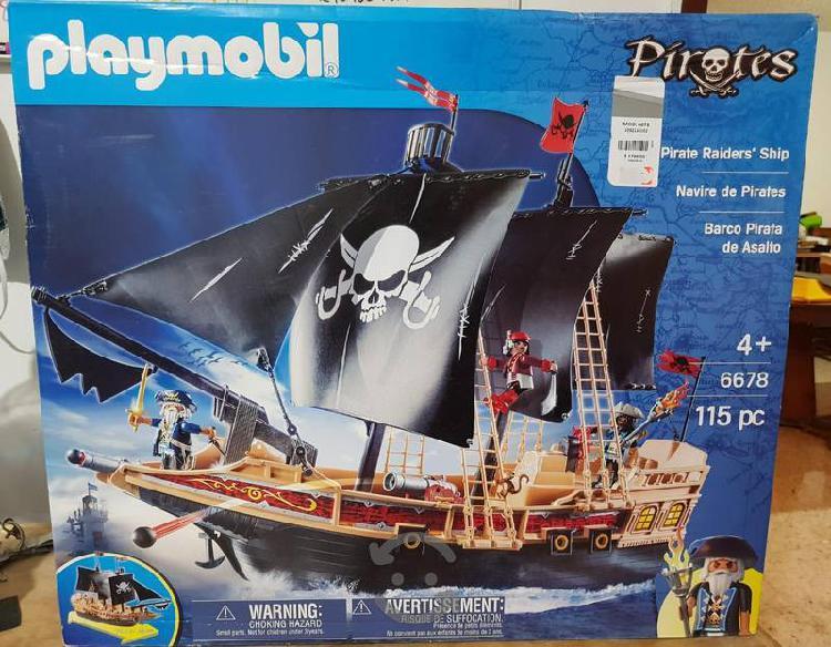 Barco pirata playmobil set grande