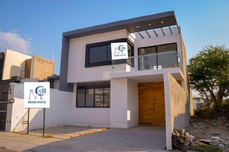 Casa nueva en venta zona norte de colima residencial loredo