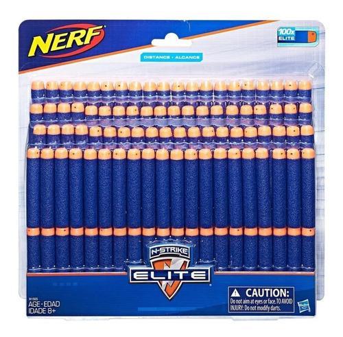 Dardos para disparadores nerf de 100 piezas hasbro