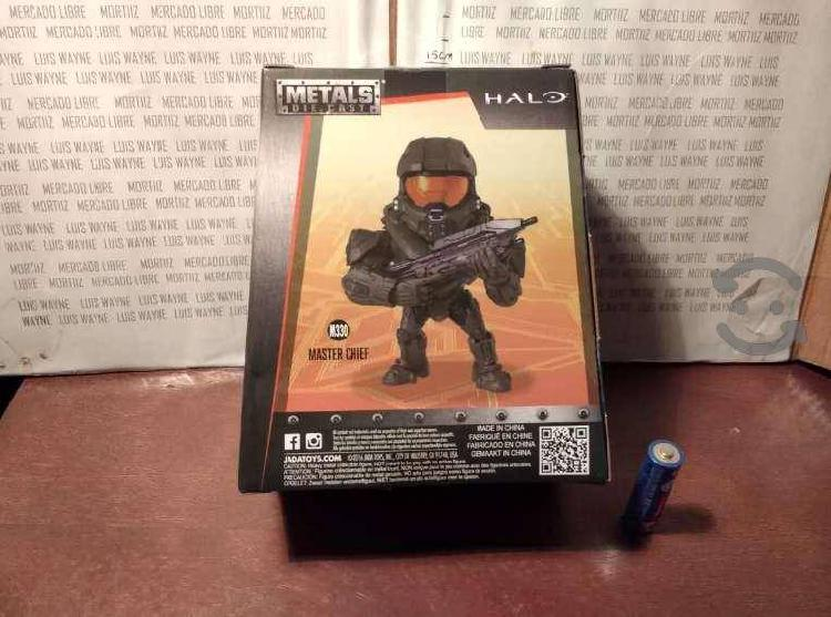 Figura halo master chief ruz metals jada