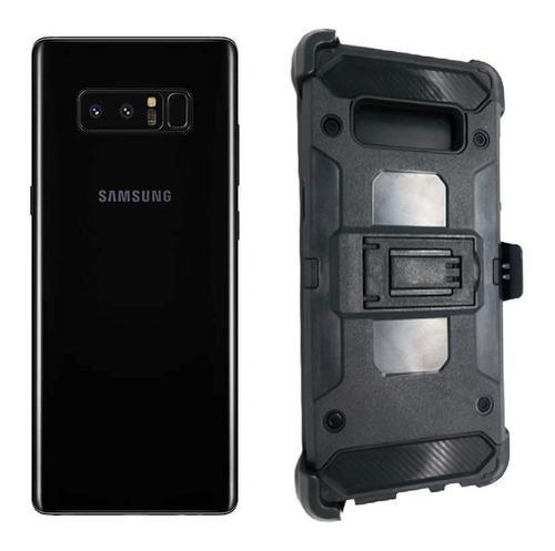 Funda protector clip combo uso rudo samsung galaxy s8 plus