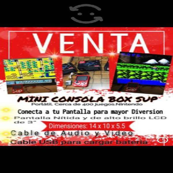 Mini game box sup 400 - consola portátil