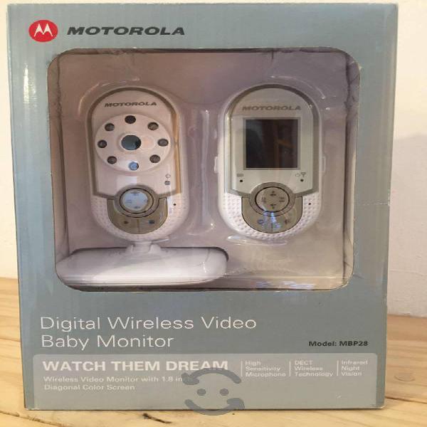 Monitor con video para bebé motorola nuevo