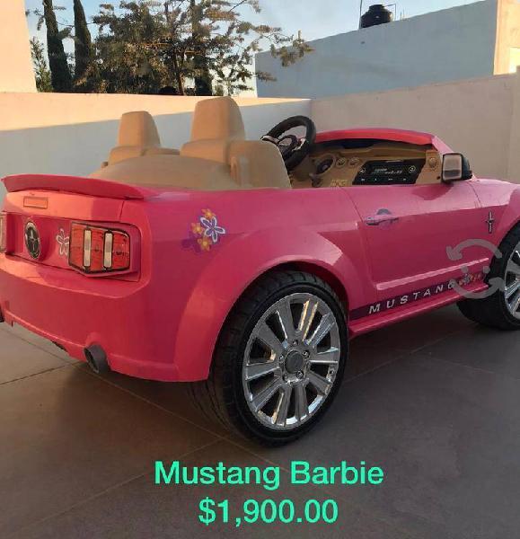 Mustang rosa, eléctrico, para niñas