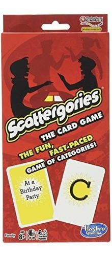 Scattergories el juego de cartas tus categorías favoritas
