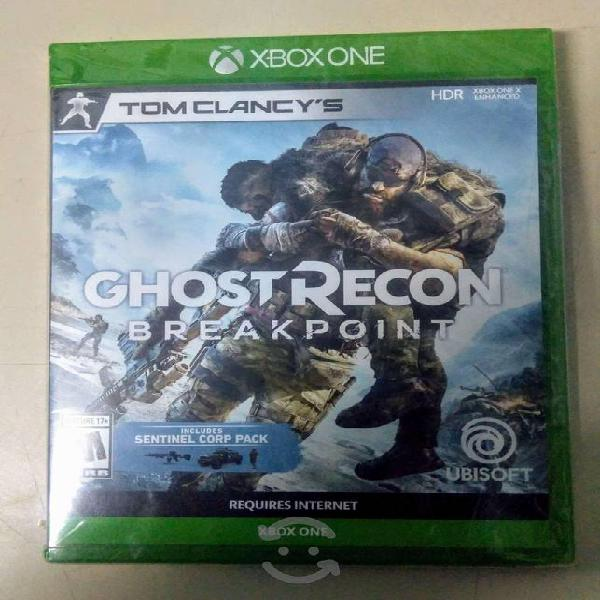 Tom clancy's ghost recon breakpoint xbox one nuevo