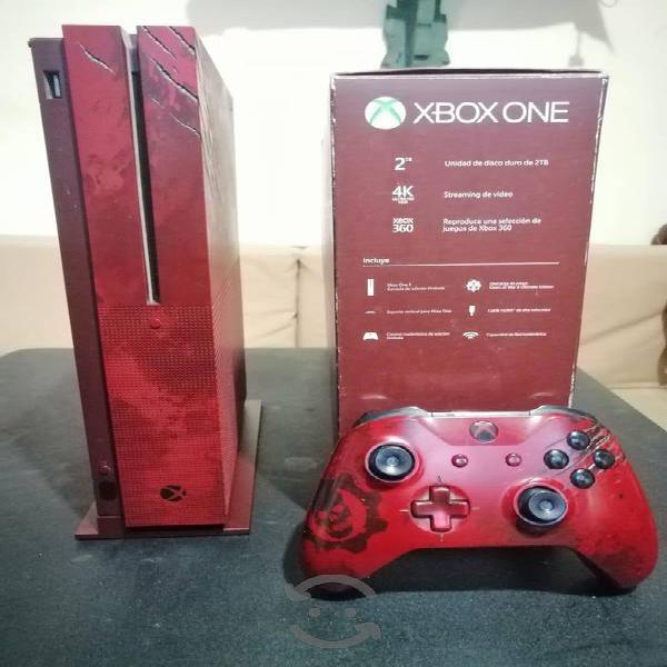Xbox one s de 2 tb edición especial de gow 4