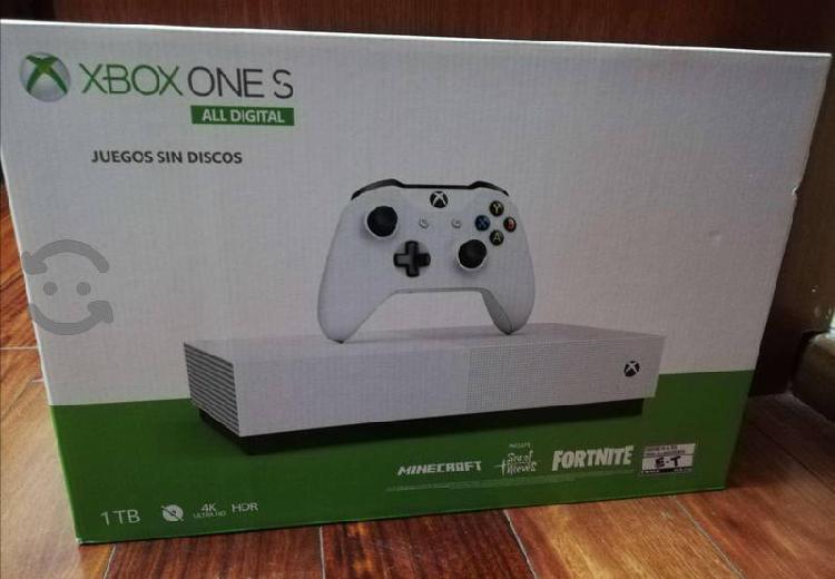 Xbox one all digital!! totalmente nuevo!!