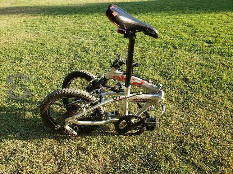Bicicleta alubike (plegable)
