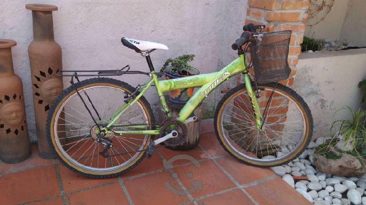 Bicicleta bimex, r24 18 velocidades c/canastilla