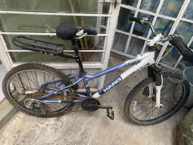 Bicicleta haro rod. 24 aluminio