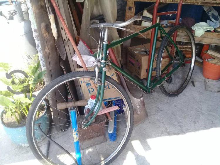 Bicicleta antigua raleigh