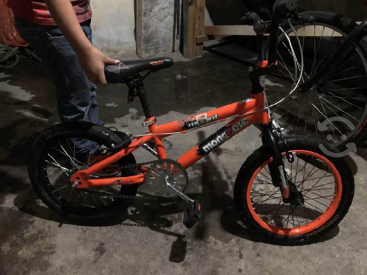 Bicicleta estilo bmx mongoose mutant kids r16