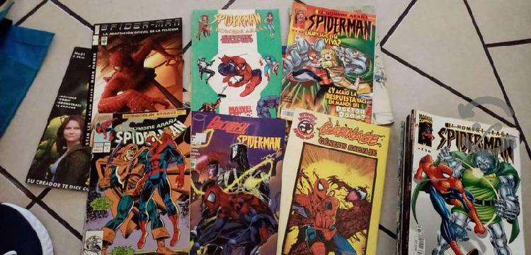 Comics hombre araña y superman novaro