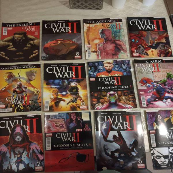 Cómics civil war ii