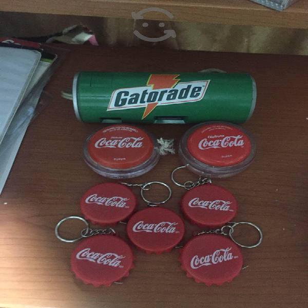 Coca cola, gatorade lote promocional vintage-retro