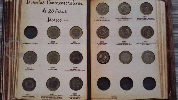 Colección de monedas de $20