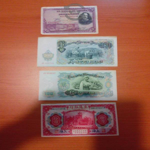 Coleccion billetes