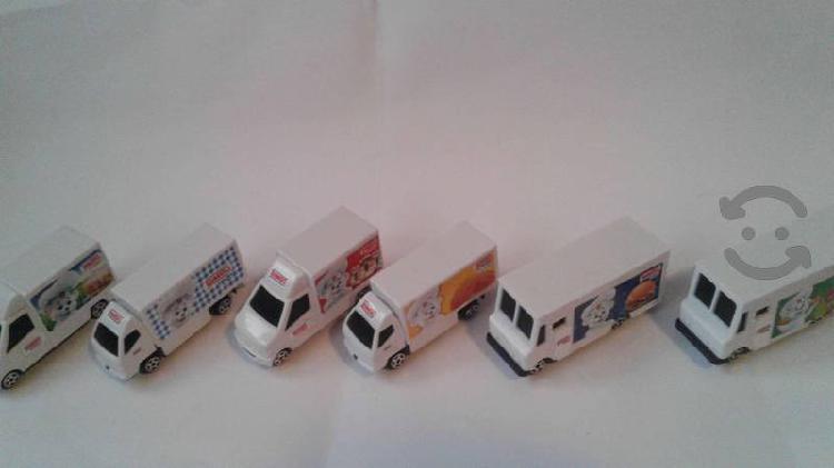 Coleccion completa de los camionsitos bimbo 2019