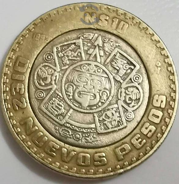 Diez nuevos pesos de 1993 de colección