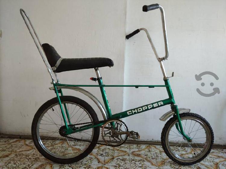 Excelente bicicleta clásica de colección raleigh
