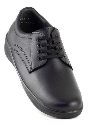 Flexi zapatos para servicio comodos 32603 negro originales