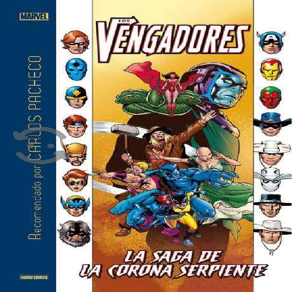 Los vengadores: la saga de la corona serpiente