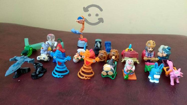 Lote juguetes huevo kinder
