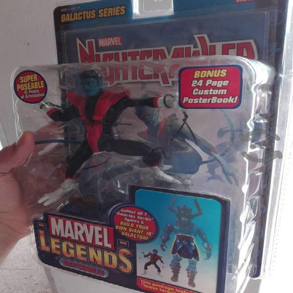 Marvel legends nightcrawler figura toybiz