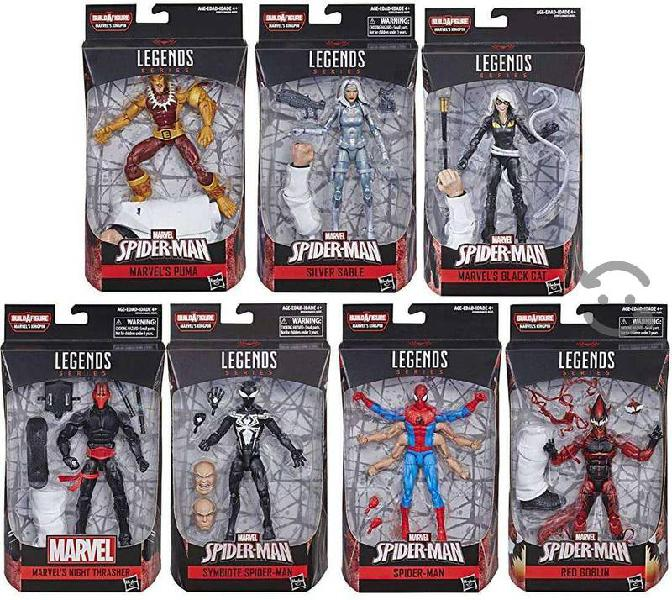 Marvel legends serie kingpin - spiderman completa