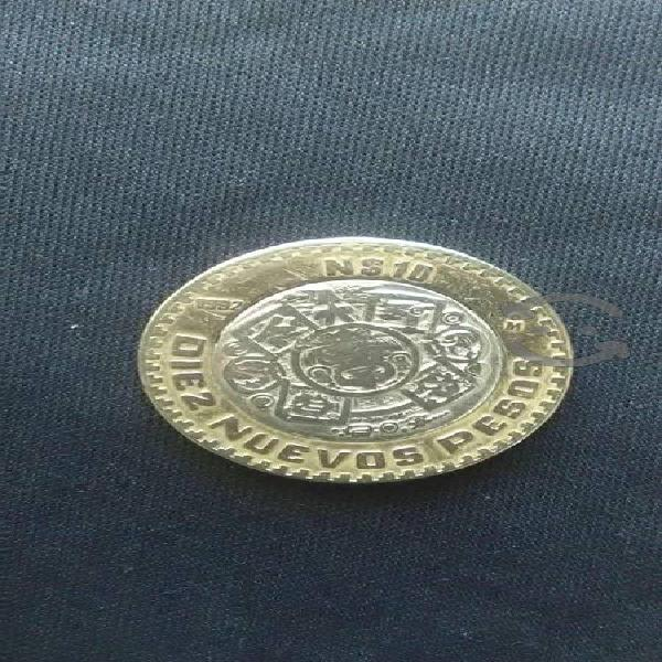 Moneda $10 nuevos pesos de 1992