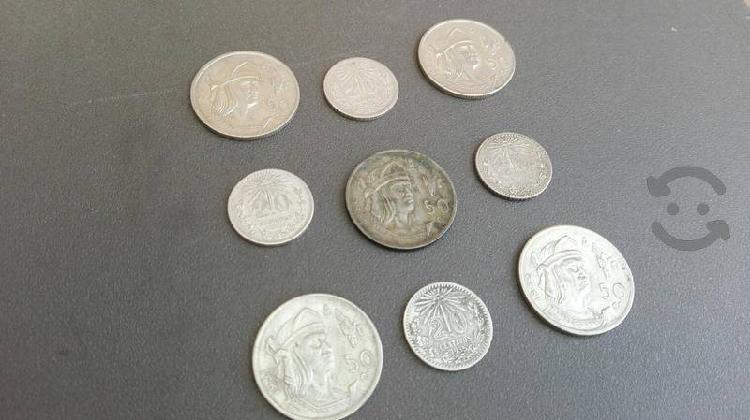 Monedas de colección cuauhtémoc y resplandor