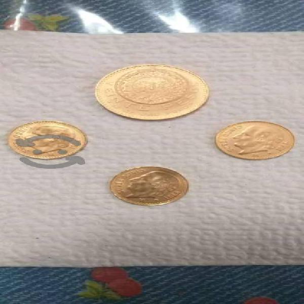 Monedas de oro familia centenario
